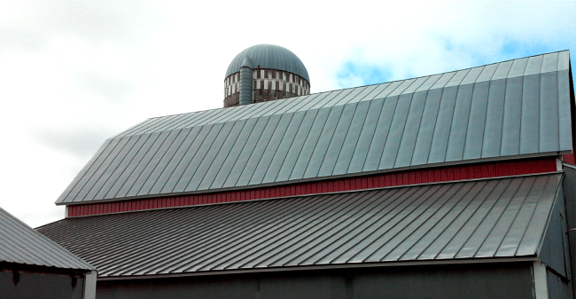 Standing Seam Metal roof replacement