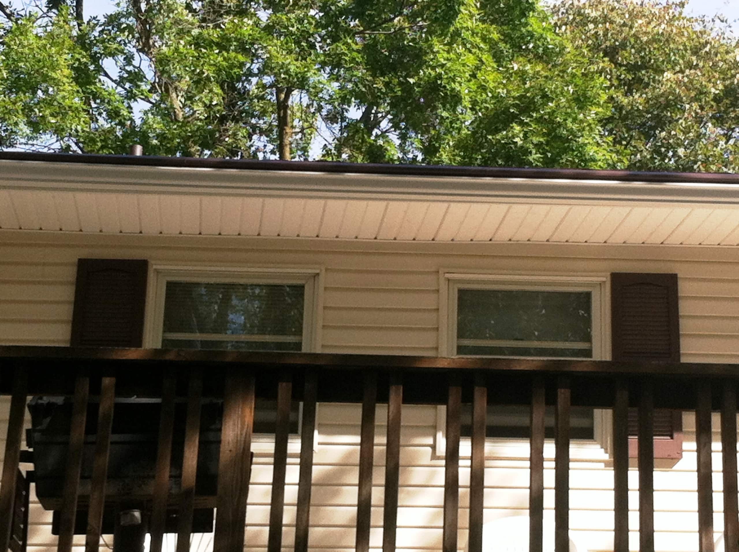 Seamless Gutters on home in Red Wing, Minnesota